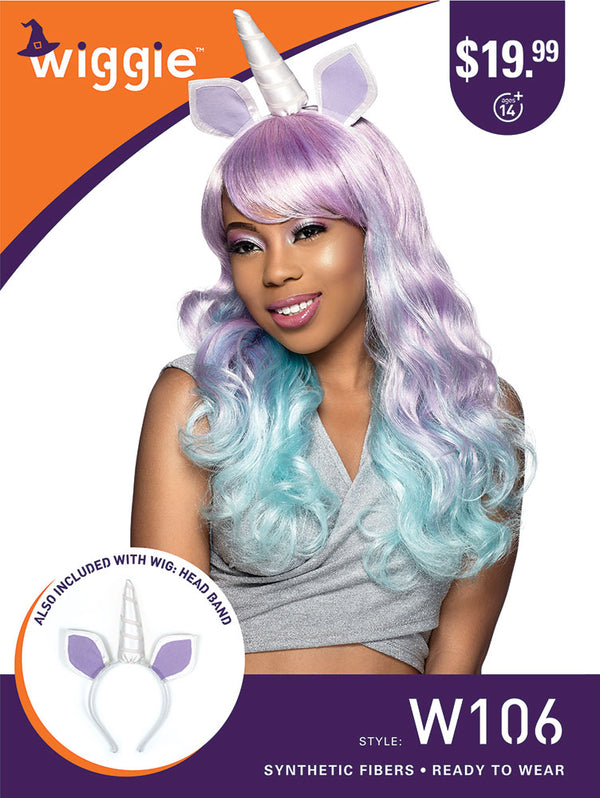 Sensationnel Halloween wigs Unicorn Wiggie W106