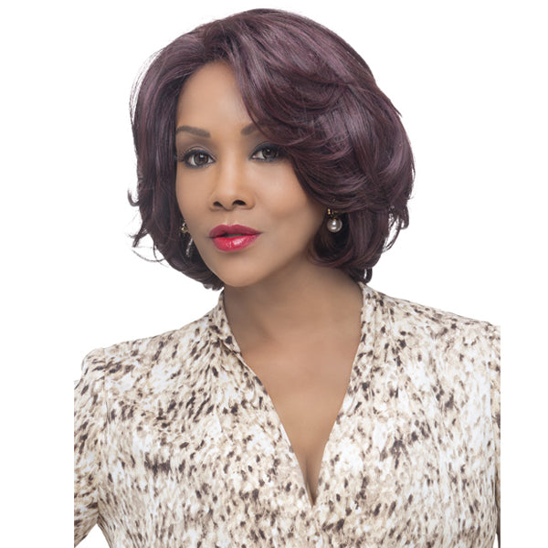 Vivica A Fox Deep Swiss Invisible Part Lace Front Wig - GARDEN