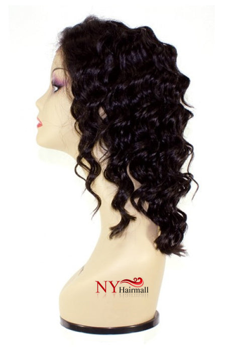 Nix & Nox 100% Human Indian Remy Swiss Lace Front Wig - Indi 100