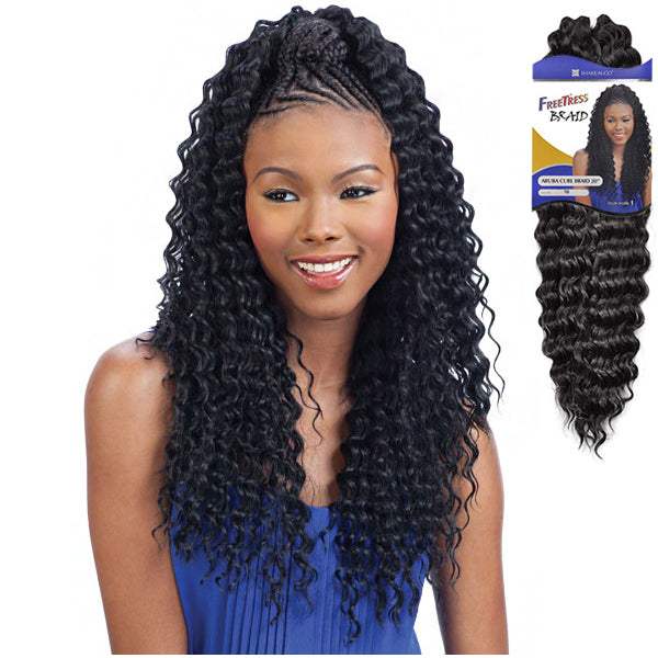 Freetress Equal Synthetic Braid - Aruba Curl Braid 20""