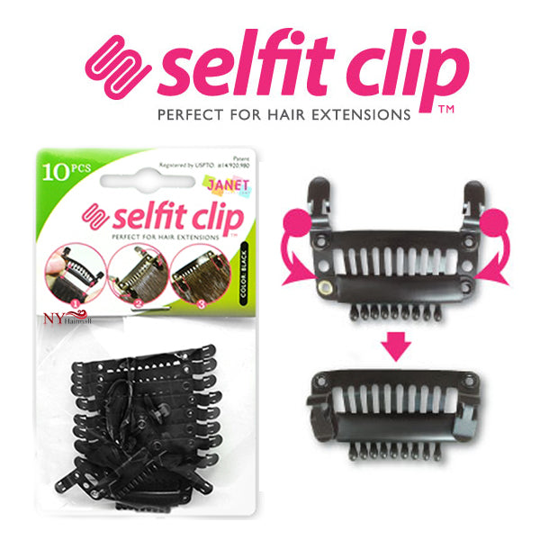 Janet Collection Selfit Clips 10pcs