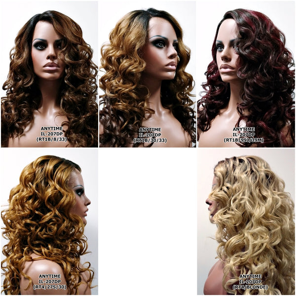 Modu Anytime Synthetic Lace Front Wig Deep Part IL 207DP