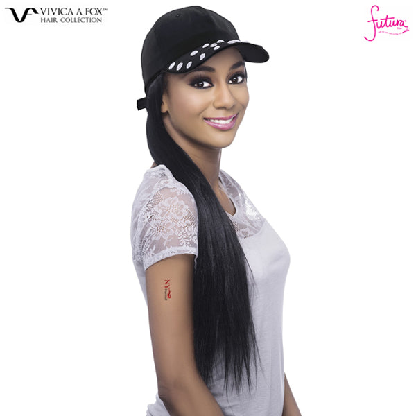 Vivica A Fox Instant Celebrity Style Synthetic Hair Piece - CAPDO BLK