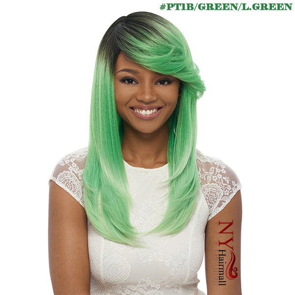 Janet Collection Synthetic Wig - Perm Flora