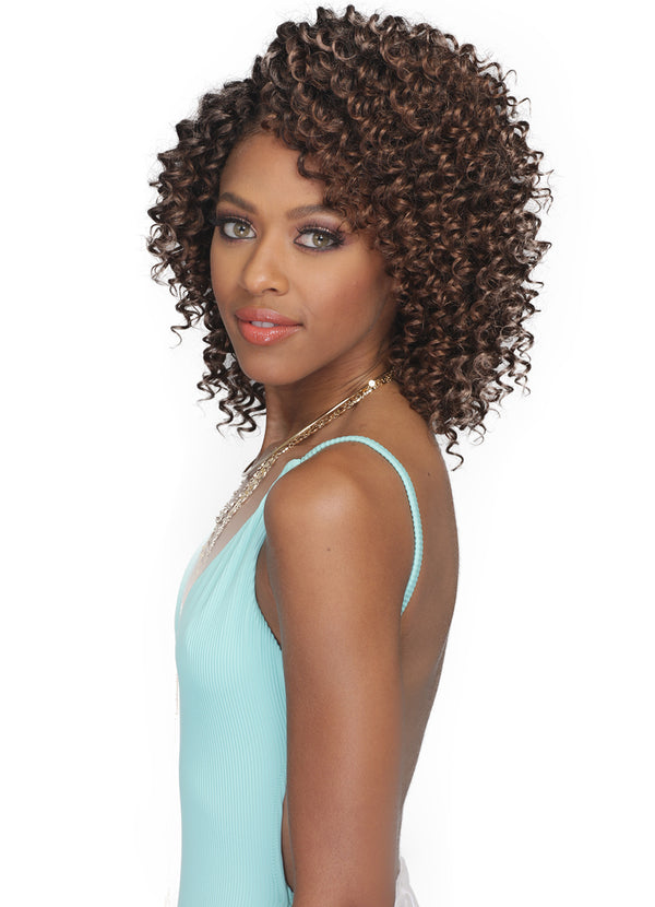 "Bobbi Boss Crochet Braid Brazilian Beach Wave 6"" 2X"