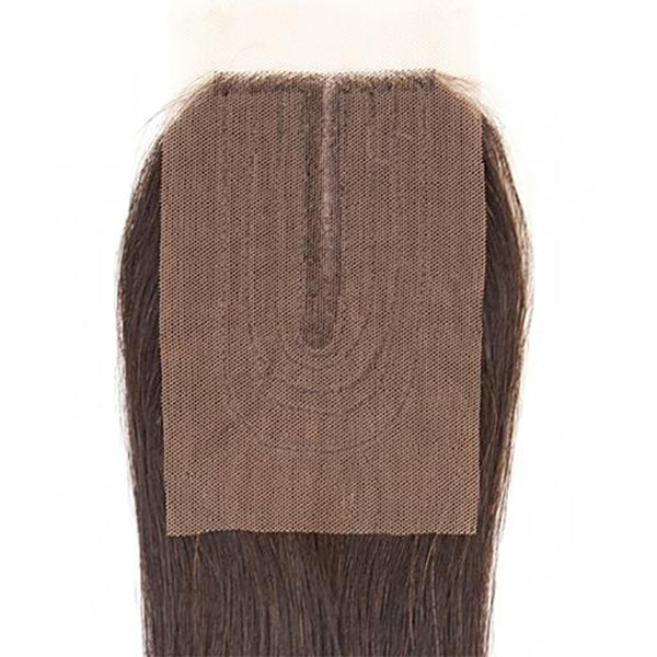 Sensationnel Bare & Natural 100% Virgin Remi 7A Lace Part Closure - STRAIGHT 14
