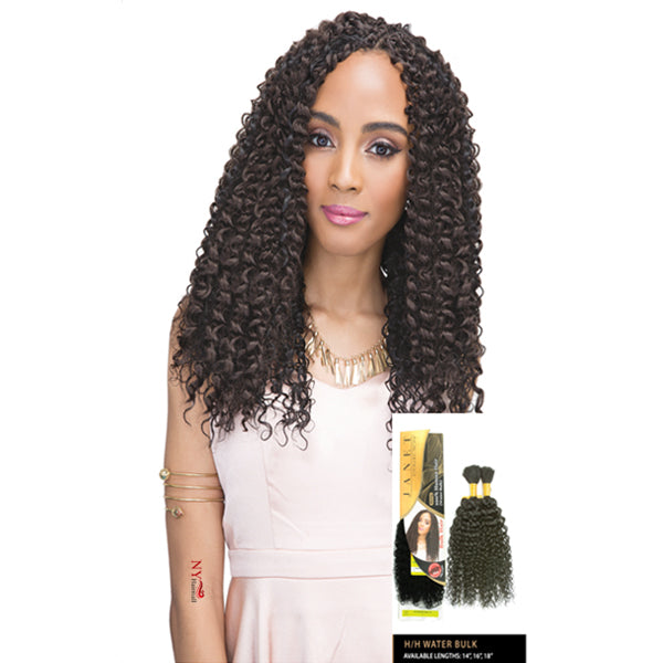 Janet Collection 100% Human Hair Braid - WATER BULK