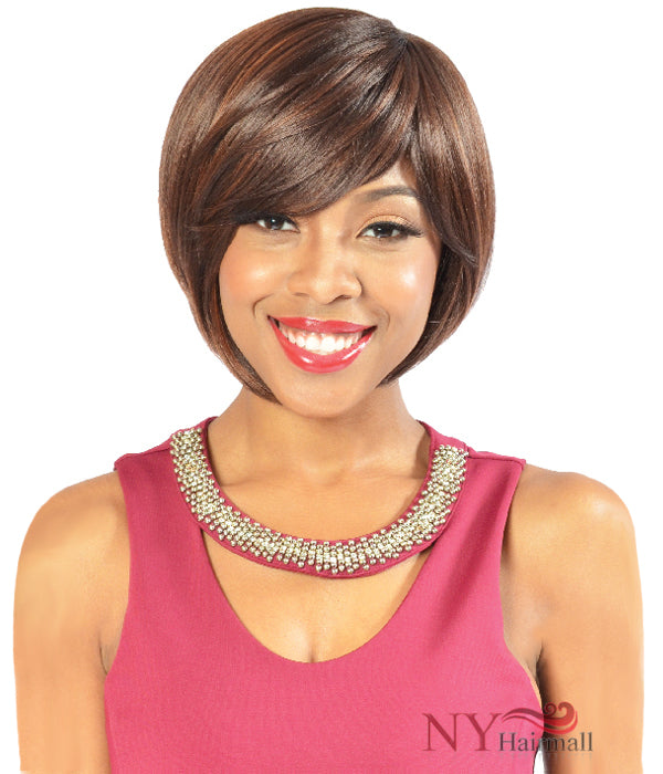 Fashion Source High Heat Fiber Full Wig - HT KEMI