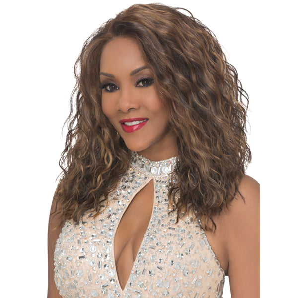 Vivica A Fox Deep Swiss Lace Front Wig - ORLANDO