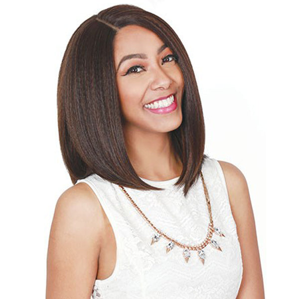 Zury Hollywood Sis Royal Swiss Lace Pre - Tweezed Part Wig - SW-LACE H CHIA 14""