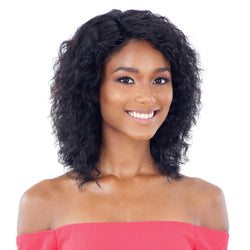 Naked Nature Brazilian Natural 100% Human Hair Wet & Wavy Lace Front Wig - CRYSTAL WAVE