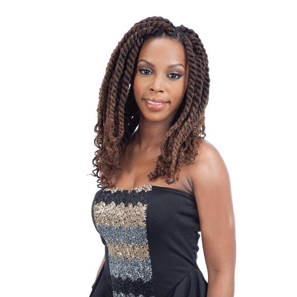 Freetress Equal Synthetic Braid Havana Twist Style- Cuban Twist