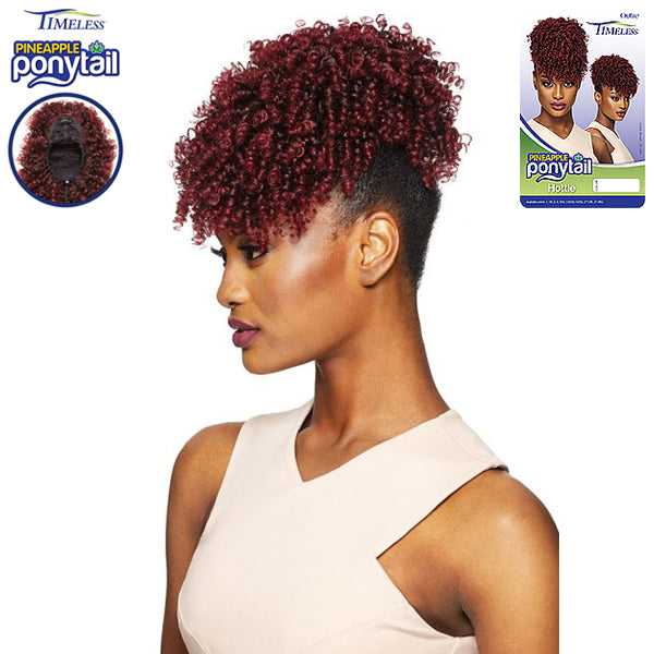 Outre Synthetic Drawstring Timeless Pineapple Ponytail - Hottie