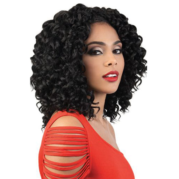 Motown Tress True 3X Pre-Looped Crochet Braid - 3X BEACH CURL 10""
