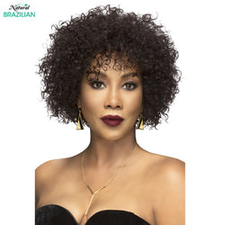 Vivica A Fox 100% Brazilian Natural Remi Human Hair Full Wig - SPRING