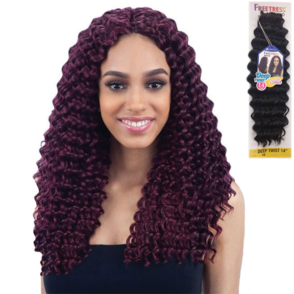 Freetress Equal Synthetic Braid - DEEP TWIST 14""