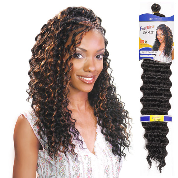 Freetress Equal Synthetic Braid - Deep Twist 22""