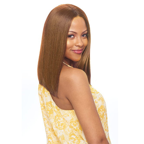 Vanessa Party Lace 6 Inch Deep Part Human Blend Full Wig - DIHB SATIN