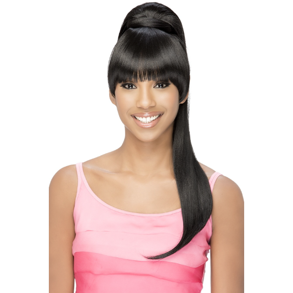 Vivica Fox Synthetic Drawstring Two In One Bang & Pony - BP-LOUI