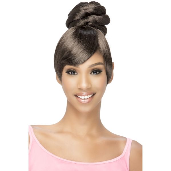Vivica Fox Synthetic Two In One Bang & Bun - BPB-SHEENA