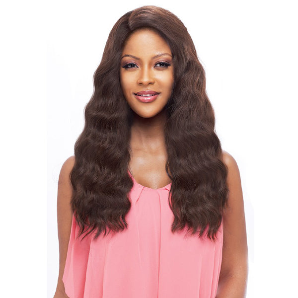 Vanessa Honey-88 Brazilian Human Blend Hand tied Whole Lace Wig - T88HB EDIN