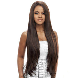 Vanessa Honey-C Side Brazilian Human Hair Blend Swiss Silk Lace Wig - TCHB ELGANY
