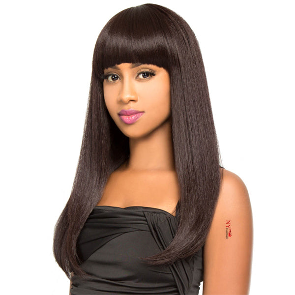 The Wig Brazilian Human Hair Blend Full Wig - HH DODO