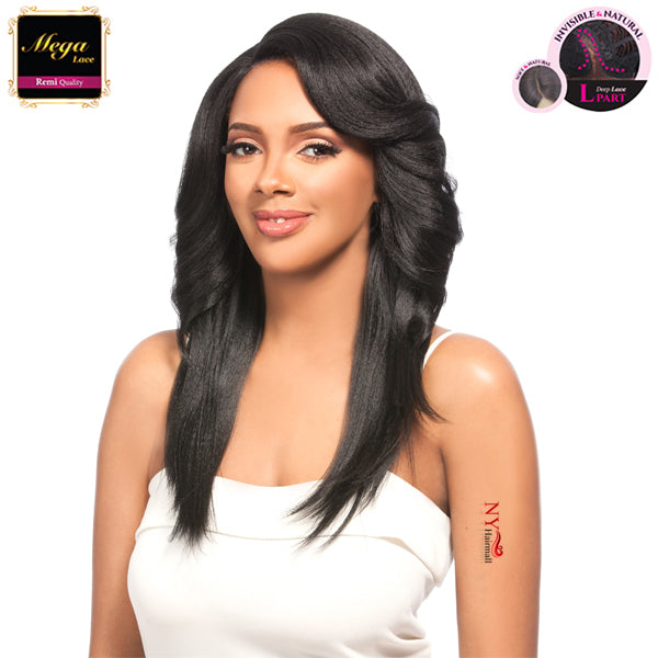 Hair Topic Mega Lace Front L-Part Wig - 123