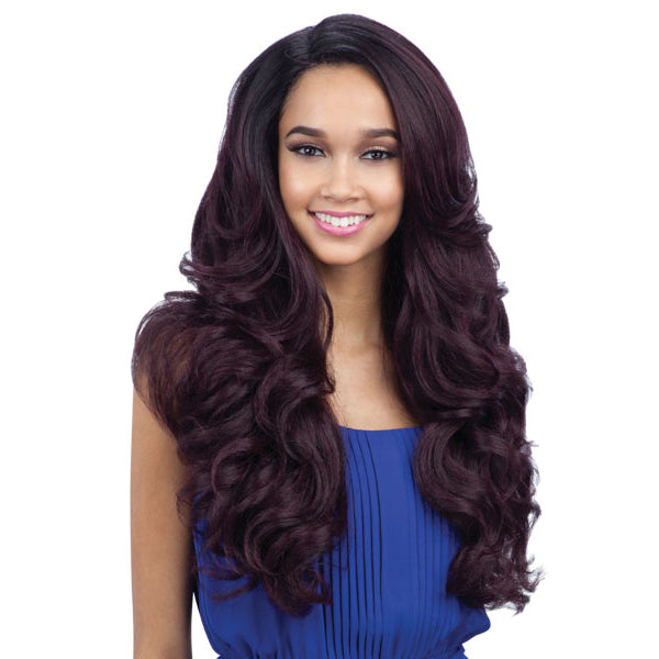 Freetress Equal Lace Front Deep Invisible L Part Wig - FOLAMI