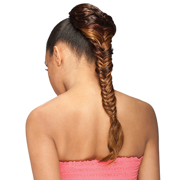 Freetress Equal Braided Drawstring Ponytail - Fish Tail Girl