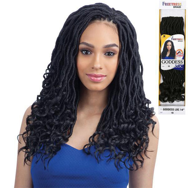 Freetress Equal Synthetic Braid - GODDESS LOC 14""
