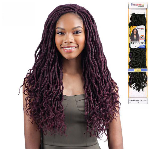 Freetress Equal Synthetic Braid - GODDESS LOC 18""