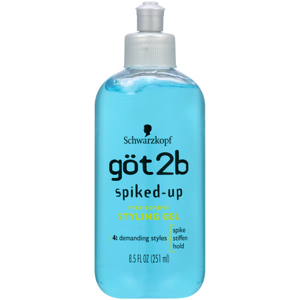 Got2B Spiked Up Styling Hair Gel, 8.5oz