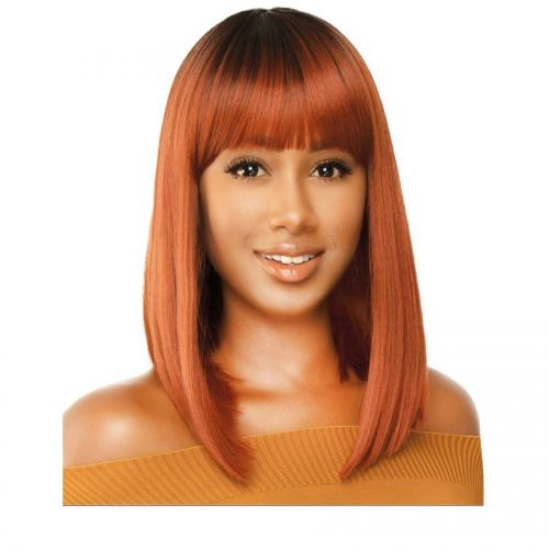 The Wig Natural Brazilian Hair Blend Full Wig - HH GOGO
