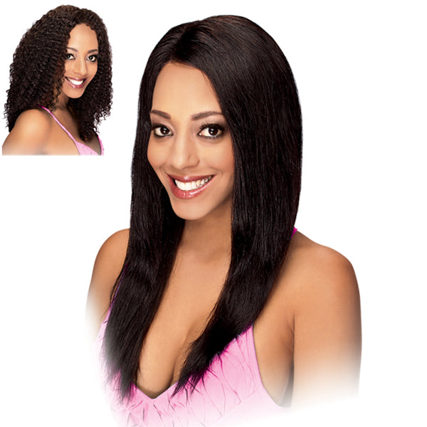 Zury Hollywood SIS 100% Remy Human Hair Lace Front Wig - HRH-LACE WIG BRAZILIAN (WET & WAVY)