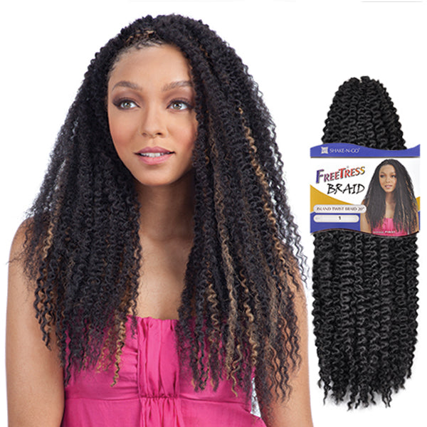 Freetress Equal Synthetic Braid - Island Twist Braid 20""