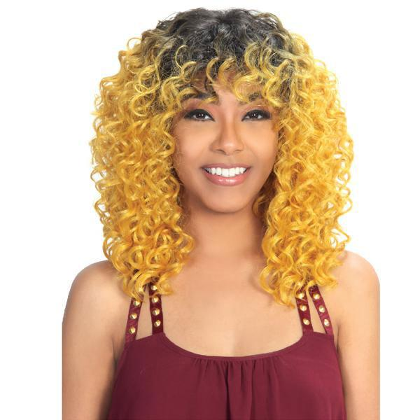 Zury Hollywood Sis Naturali Star Synthetic Full Wig - NAT-H 3A JAMAI
