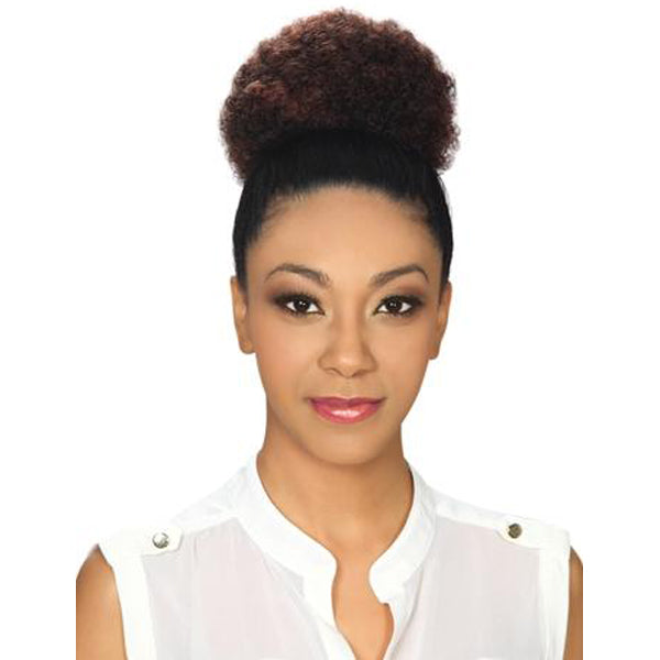 Zury Hollywood Sis 100% Human Hair Lady Drawstring Bun - Lady Afro