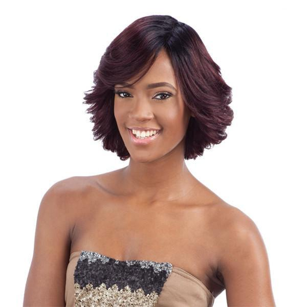 MilkyWay SAGA 100% Remy Hair Full Wig - Lavender