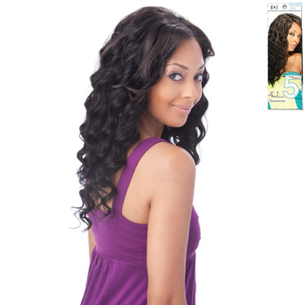 Sensual Collection Hi 5 - Multi Long Ripple DEEP WAVE Quad