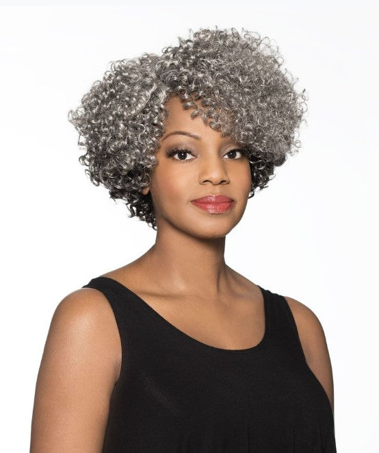 Foxy Silver Synthetic J part Wig - marjorie