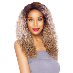 Vanessa Honey-5 Hand-Tied Swiss Silk Deep Lace Front Wig - T5HB MORGA