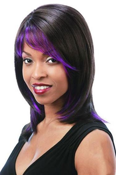 Motown Tress Synthetic Full Wig - STREAK