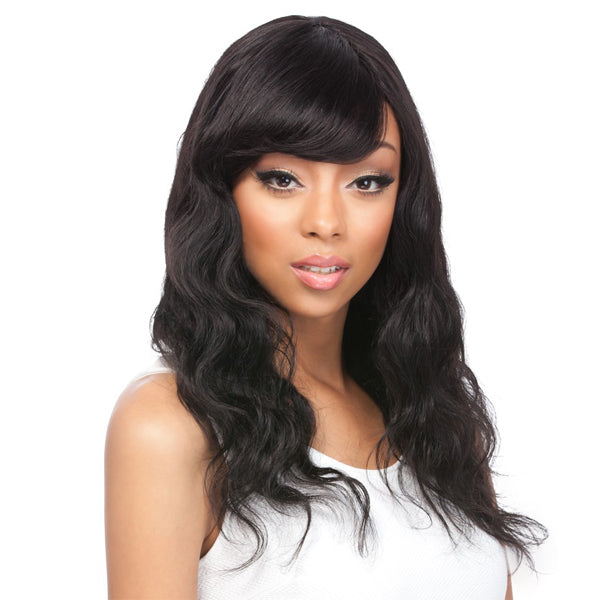 It's a Wig Brazilian Human Hair Full Wig - Body Wave 20""