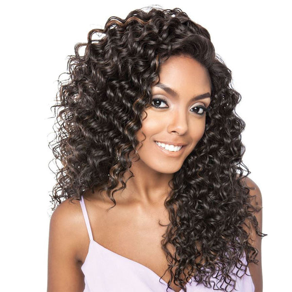 ISIS Brown Sugar Human Blend 13X4 Frontal Swiss Lace Front Wig - BSF02