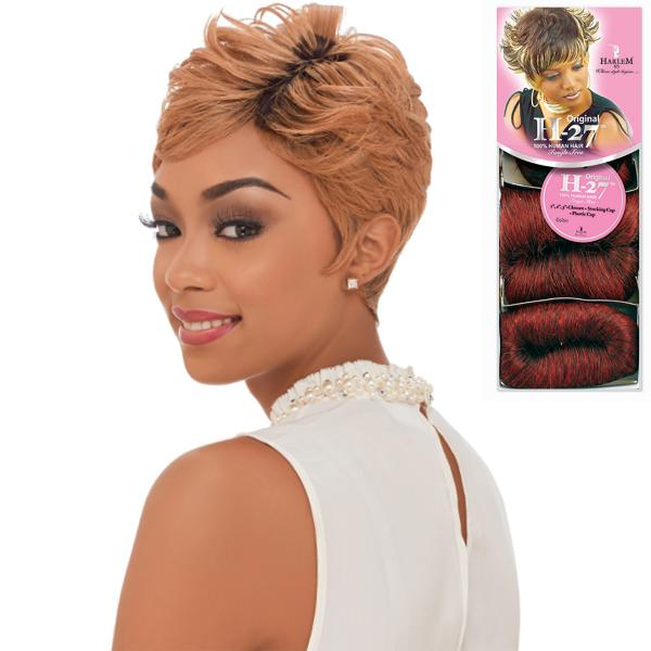 "Harlem 125 Human Hair Original H-27 (1"" 2"" 3"") 27pcs (BOGO)"