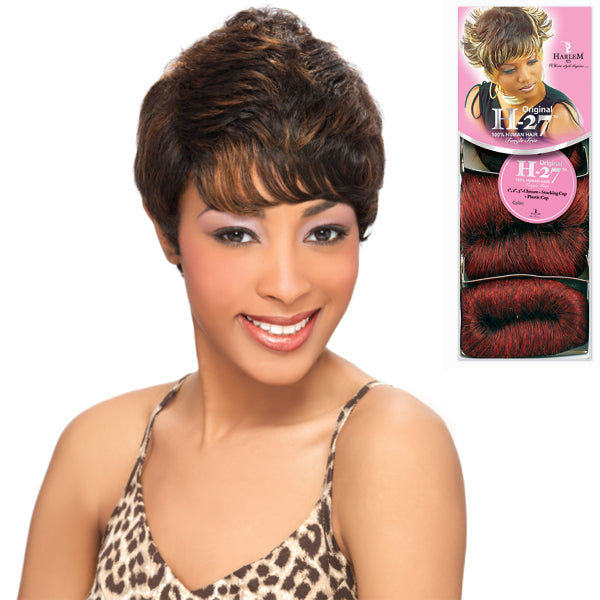 "Harlem 125 Human Hair Original H-27 (1"" 2"" 3"") 27pcs"