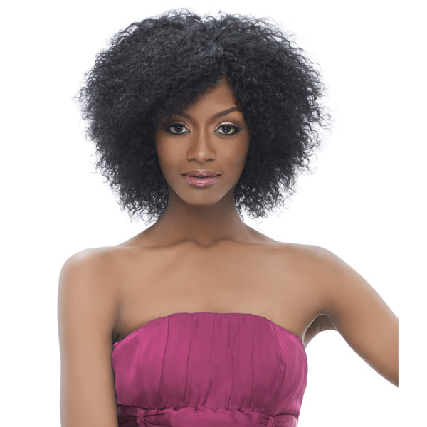 Harlem 125  Indian Remi Wet & Wavy Short Cut 3PCS - Jerry Curl 8""