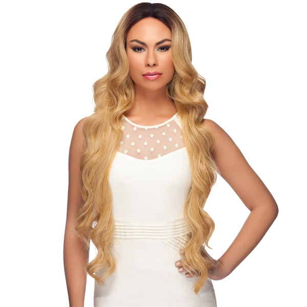 "Harlem 125 Lace Front Wig Long Curly 34"" - LL002"