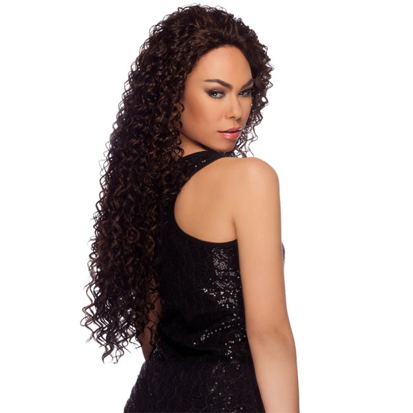 "Harlem 125 Lace Front Wig Long Curly 34"" - LL006"